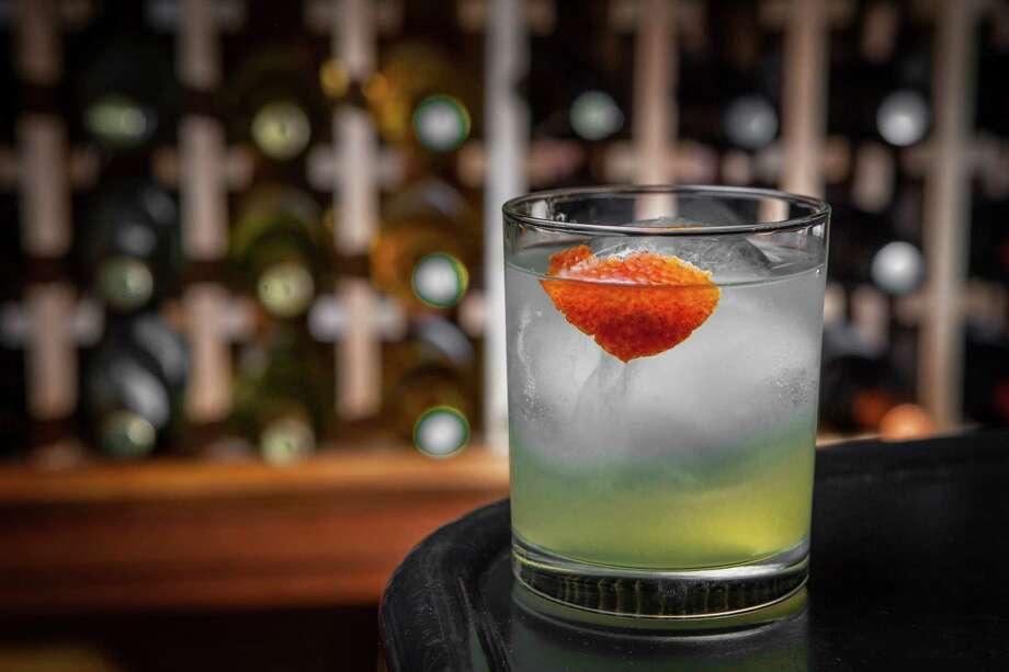 Killen's Steakhouse's Brawndo cocktail Photo: Nick De La Torre / ONLINE_YES