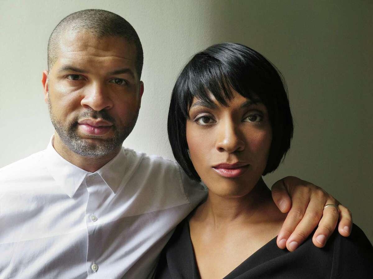 Musicians Jason Moran and Alicia Hall Moran perform in Houston this week.