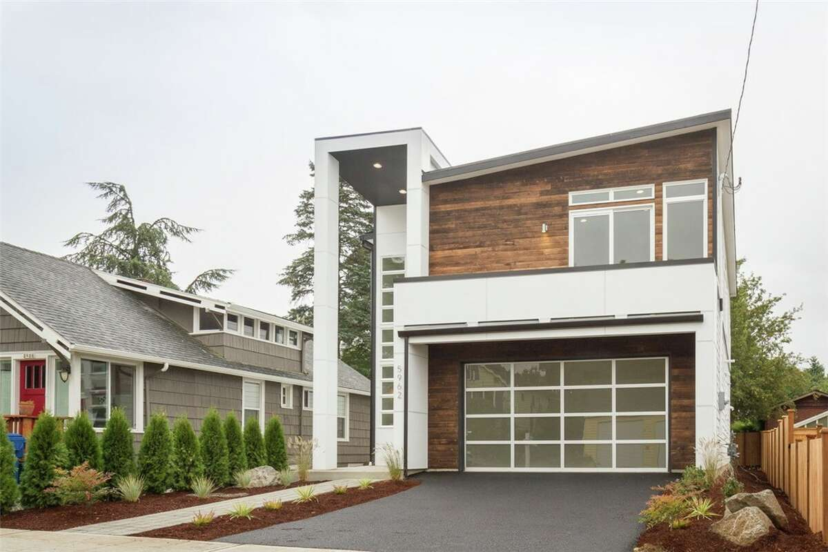 Exterior of 5962 44th Ave. S. in Hillman City. The three-bedroom, 2.5-bathroom home is priced at $749,000.The home was built just this year and includes a spacious master bedroom and bathroom with spa-like features. It's open for your viewing from noon to 2 p.m. Sunday.
