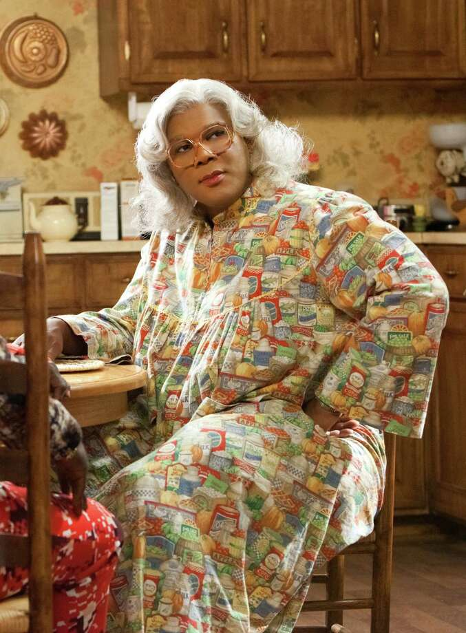 "In this film publicity image released by Lionsgate, Tyler Perry portrays Madea in a scene from ""Tyler Perry's Madea's Big Happy Family."" (AP Photo/Lionsgate, Quantrell D. Colbert) Photo: Quantrell D.Colbert / ©Tyler Perry Studios"