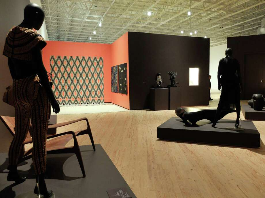 """A view of """"Texas Design Now"""" at the Contemporary Arts Museum. Photo: Molly Glentzer"""