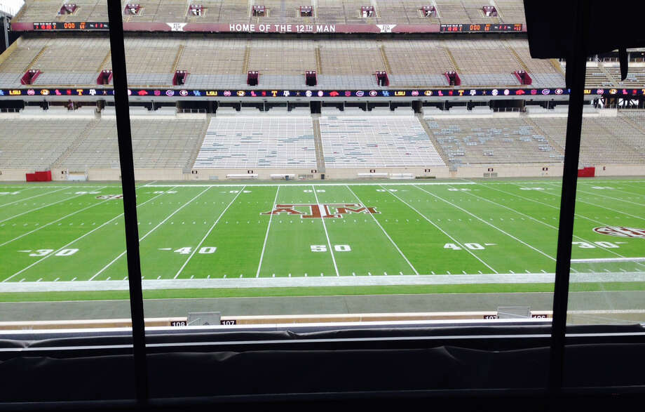 View from the mid-level suites at the renovated Kyle Field in 2015. Photo: Brent Zwerneman / Houston Chronicle