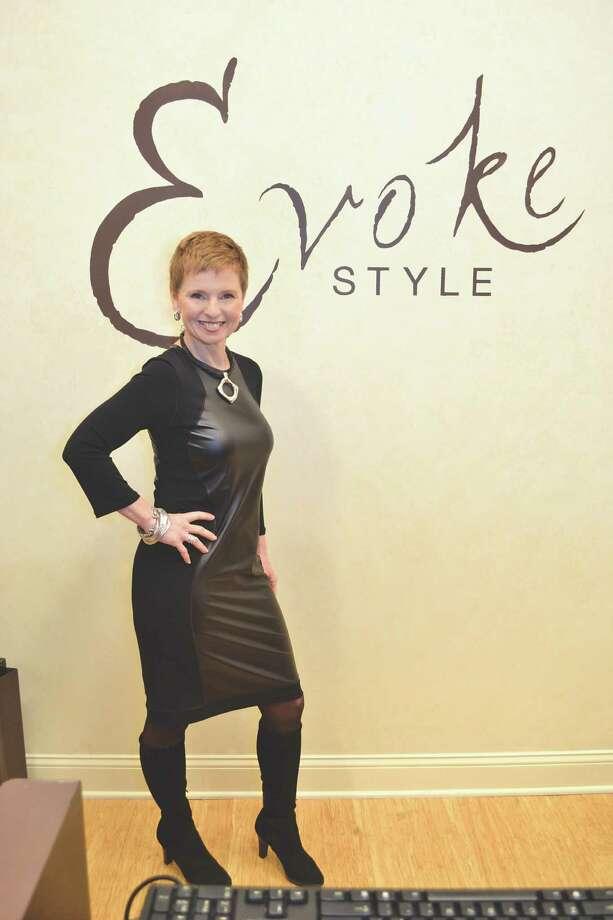 Sandra Dollard of Evoke Style in Albany, N.Y. on October 24, 2013.