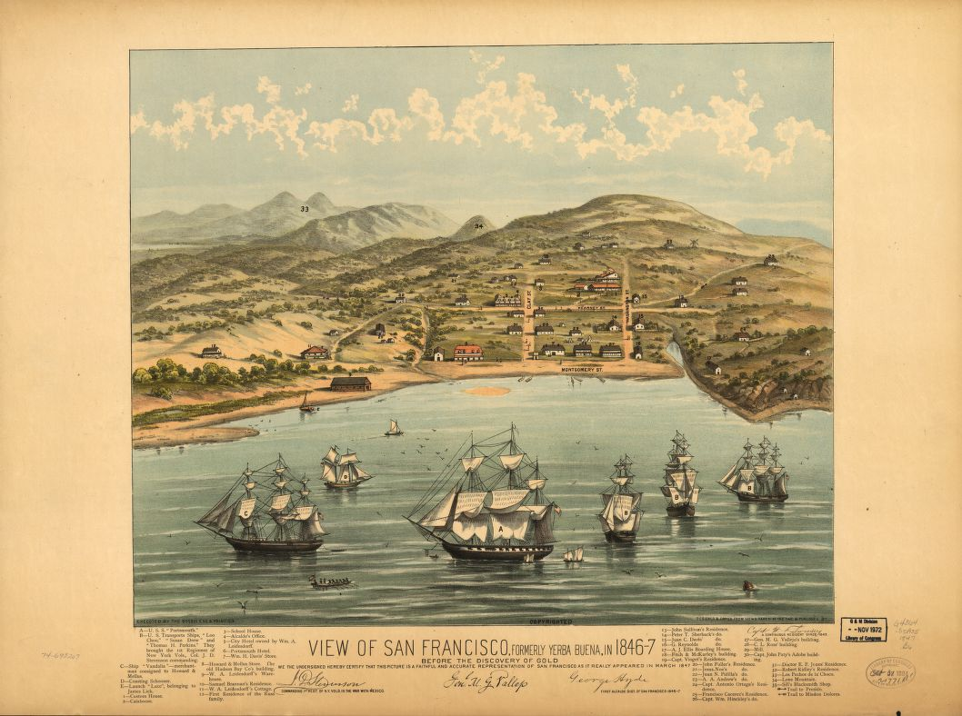 Historic maps give a bird's eye view of San Francisco - SFGate