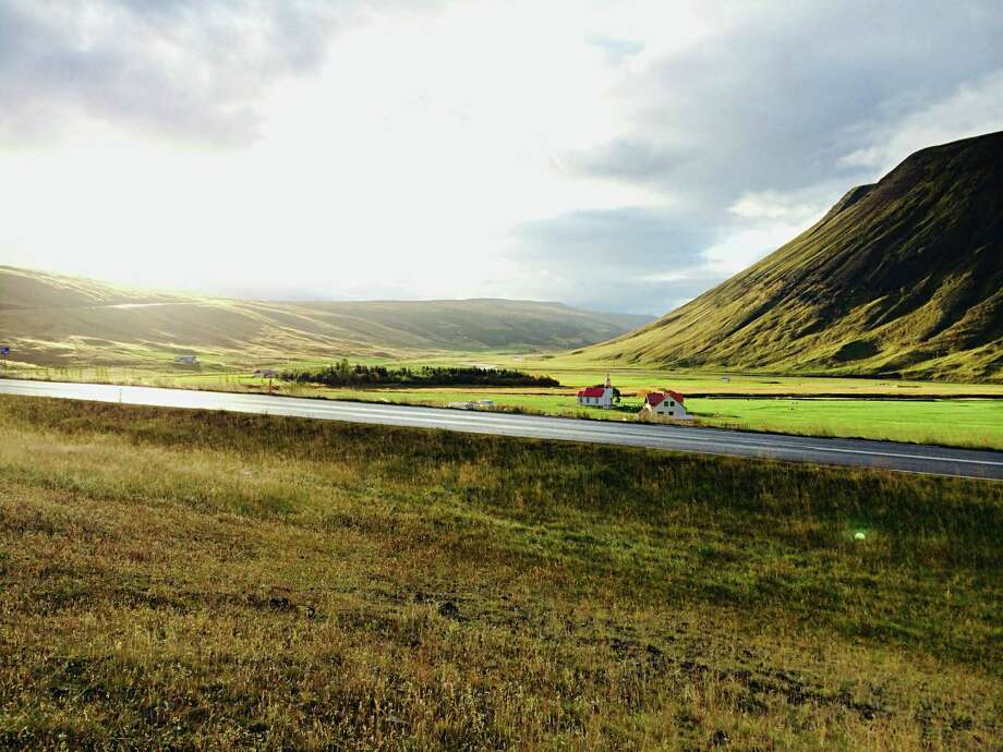 Driving in northern Iceland. The island nation, while roughly the size of the state of Kentucky, has just 7 percent of its population. Photo: Katie Hammel / ONLINE_YES