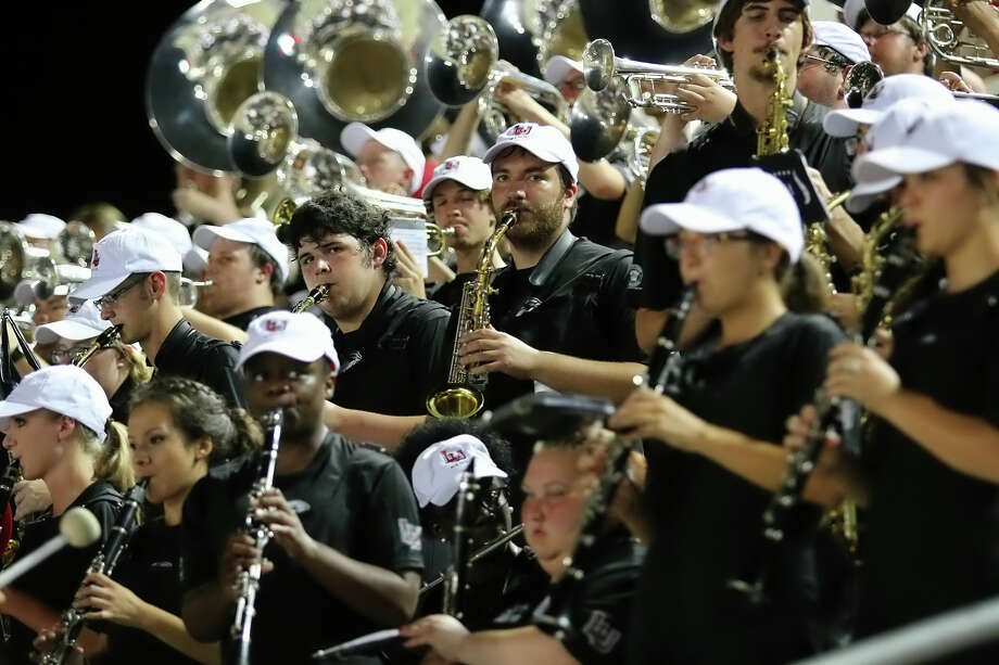 Due to the roughly $25,000 price tag of seating its band in Baylor's stadium, Lamar's band will not be attending this weekend's game against the Bears. The Lamar Band performs in the stands during the game between the Lamar Cardinals and Bacone College at Provost Umphrey Stadium Saturday night, September 5th, 2015 - photo provided by Kyle Ezell