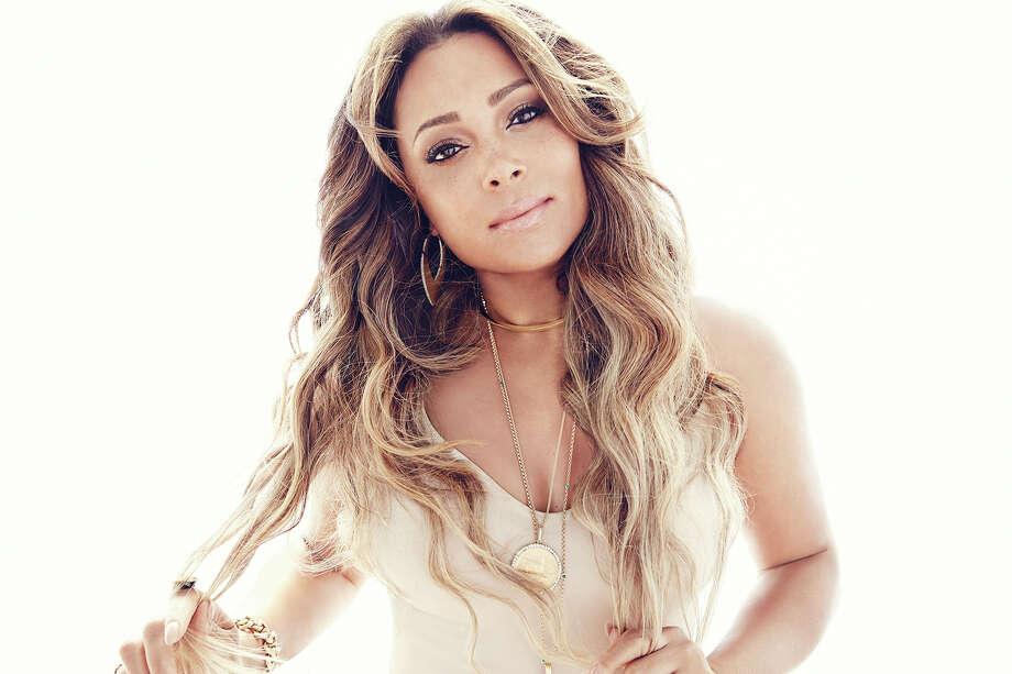 R&B singer Tamia.