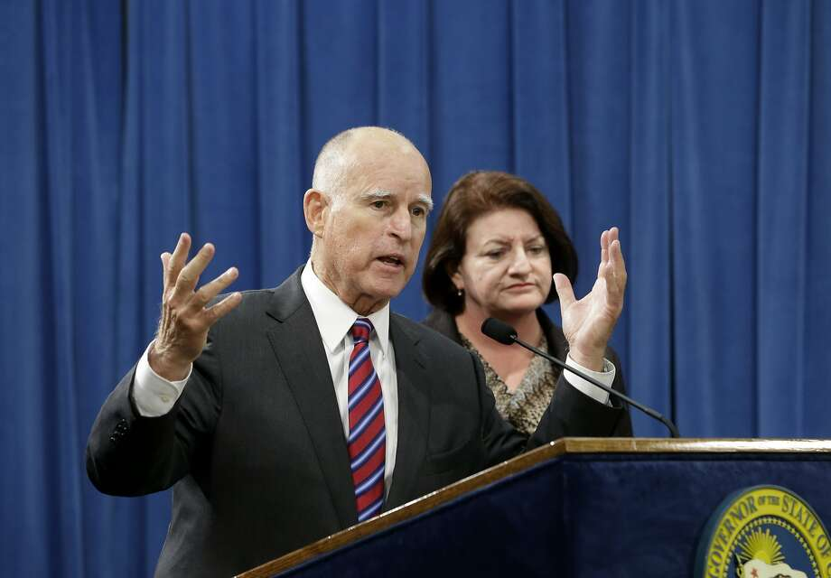 The governor's sense of urgency is understandable — there are lots of threats to California's climate change fight right now. Photo: Rich Pedroncelli, Associated Press