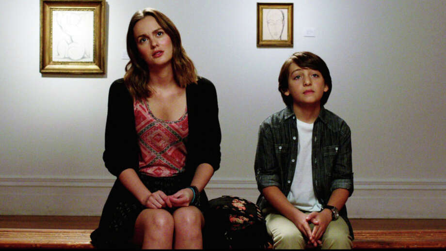 "Leighton Meester (Eleanor) and Julian Shatkin (Reggie) visit the Museum of Modern Art in a scene from ""Like Sunday, Like Rain,"" written and directed by Frank Whaley, who is known for his acting roles in ""Pulp Fiction"" and Showtime's ""Ray Donovan."" Photo: Contributed Photo"