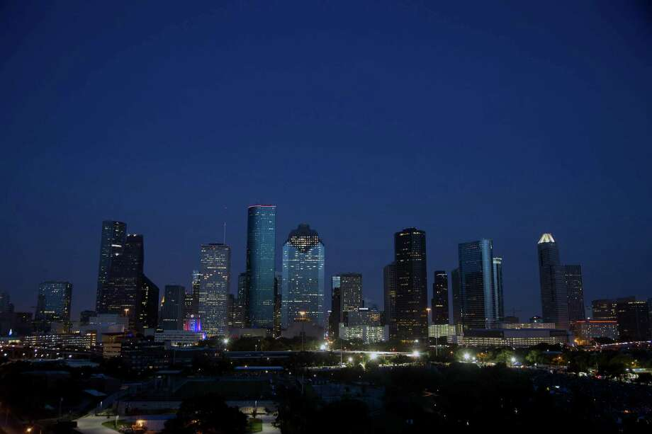 The downtown before the Freedom Over Texas festival Saturday, July 4, 2015, in Houston.  ( James Nielsen / Houston Chronicle ) Photo: James Nielsen, Staff / © 2015  Houston Chronicle