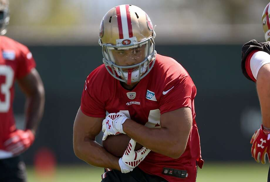 Despite his eye-opening preseason performance, Australian Jarryd Hayne might not be on the active roster when the 49ers play their regular-season opener Monday. Photo: Thearon W. Henderson, Getty Images