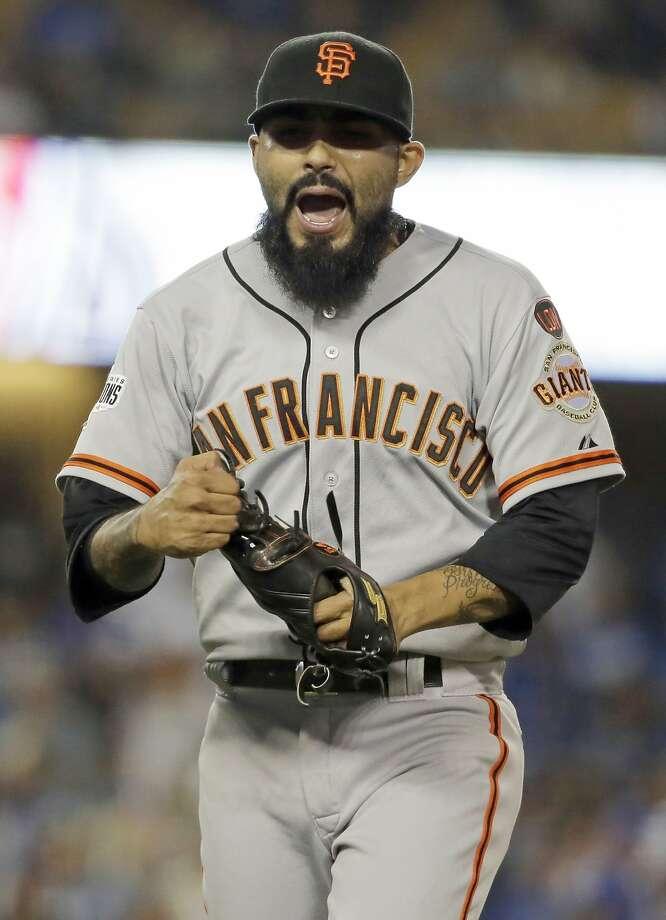 Sergio Romo said things have not gone according to plan. Photo: Chris Carlson, Associated Press