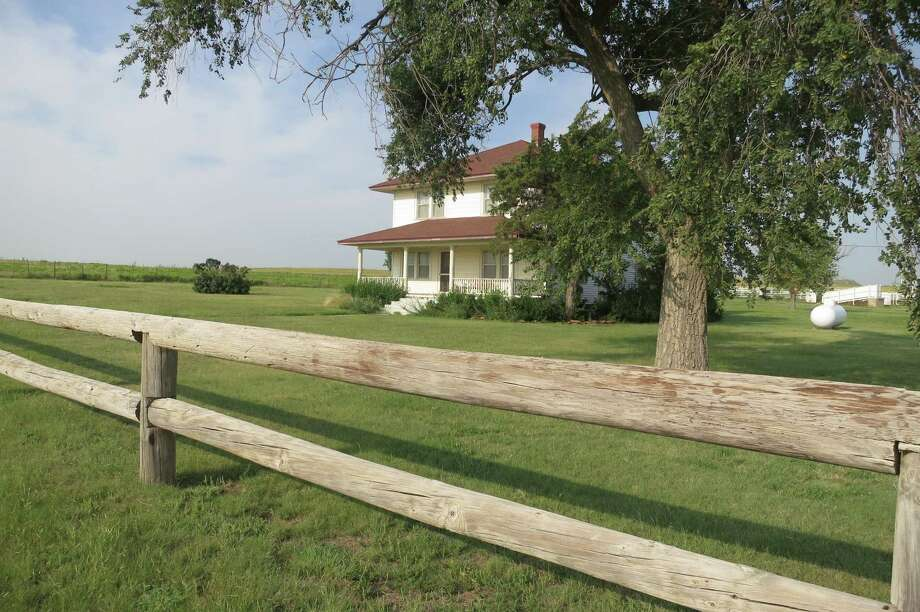 "The Arrington Ranch and Lodge, about 12 miles south of Canadian, had a peripheral role in the 2000 Tom Hanks film ""Cast Away."" Photo: Joe Holley / Houston Chronicle"