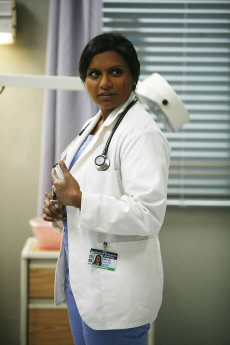 "Mindy (Mindy Kaling) is a skilled OB/GYN navigating the tricky waters of both her personal and professional life in the new comedy ""The Mindy Project."" Photo: Beth Dubber, FOX"