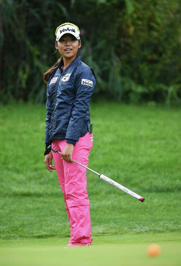 EVIAN-LES-BAINS, FRANCE - SEPTEMBER 11:  Mi Hang Lee of South Korea putts during the second round of the Evian Championship Golf on September 11, 2015 in Evian-les-Bains, France.  (Photo by Stuart Franklin/Getty Images) ORG XMIT: 569011329 Photo: Stuart Franklin / 2015 Getty Images