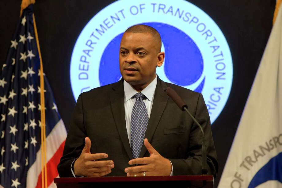 Transportation Secretary Anthony Foxx discusses 10 automakers' commitment to the government to include automatic emergency braking in all new cars, a step safety advocates say could significantly reduce traffic deaths and injuries. Photo: Jacquelyn Martin, STF / AP