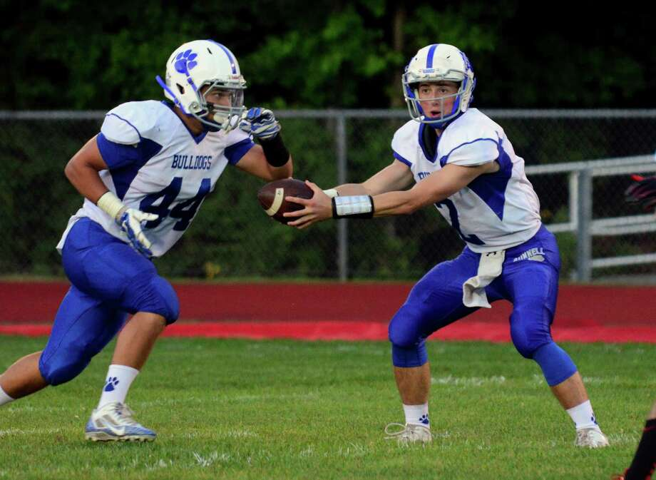 Opening night of high school football action between Masuk and Bunnell in Monroe, Conn. on Friday Sept. 11, 2015. Photo: Christian Abraham / Hearst Connecticut Media / Connecticut Post