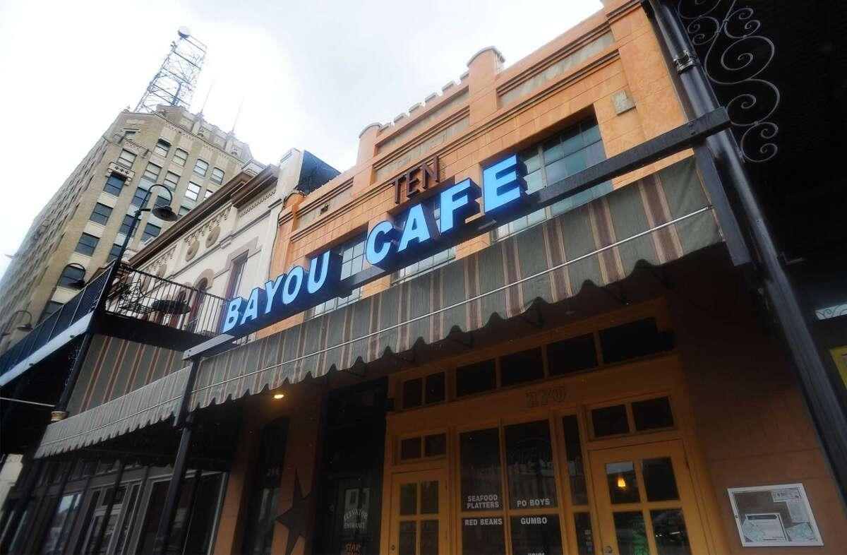 BAYOU CAFE 270 Crockett St., Beaumont