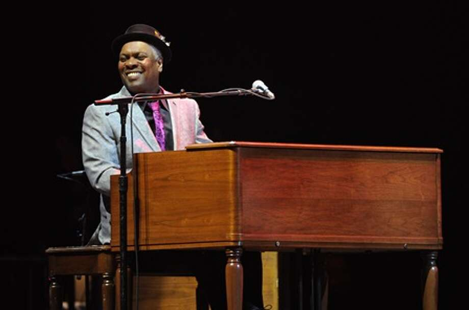 Musician Booker T. Jones headlines the 14th annual Albany Riverfront Jazz Festival on Saturday, Sept. 12, 2015. He's pictured here performing at Eric Clapton's Crossroads Guitar Festival 2013 at Madison Square Garden on Friday April 12, 2013 in New York. (Photo by Evan Agostini/Invision for Hard Rock International/AP Images) Photo: Evan Agostini