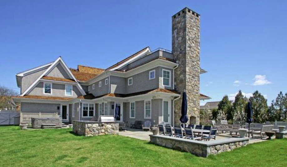 The property at 17 Burnham Hill was recently sold for $4.2 million. Photo: Contributed / Contributed Photo / Westport News