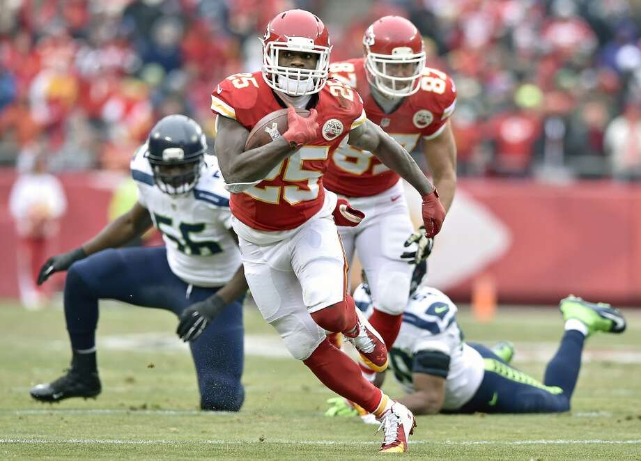 Jamaal Charles, the Port Arthur native who played at the University of Texas and in the NFL for 11 seasons, is reportedly signing a one day contract with the Kansas City Chiefs before retiring, according to 610 Sports Radio in Kansas City. Photo: JOHN SLEEZER, McClatchy-Tribune News Service