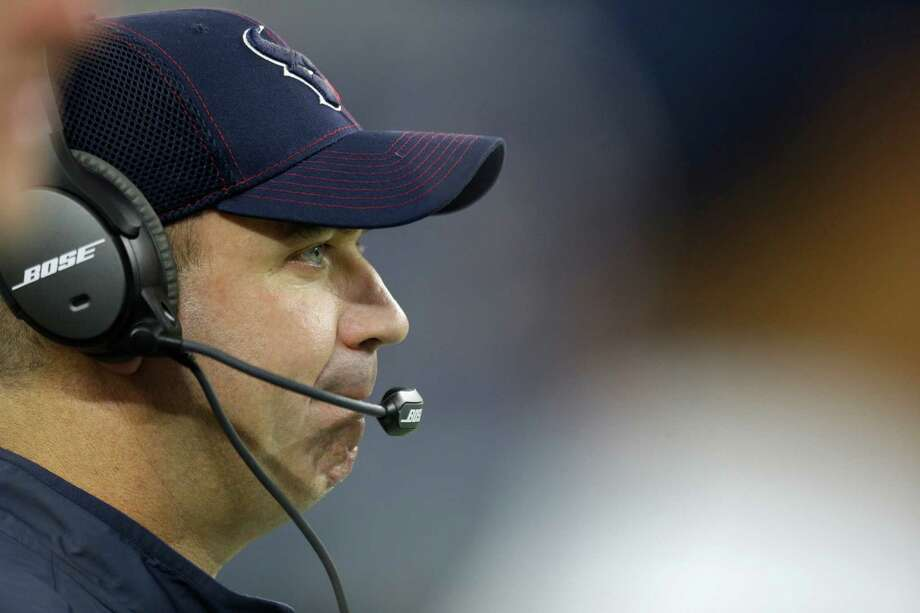 Bill O'Brien has his sights set on the playoffs. Photo: Brett Coomer, Staff / © 2015  Houston Chronicle