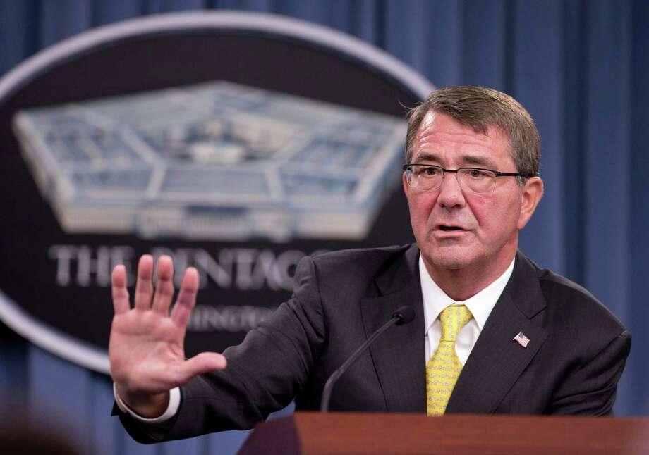 Officials complain Defense Secretary Ash Carter is not acting fast enough on Guantanamo releases. Photo: Manuel Balce Ceneta /Associated Press / AP