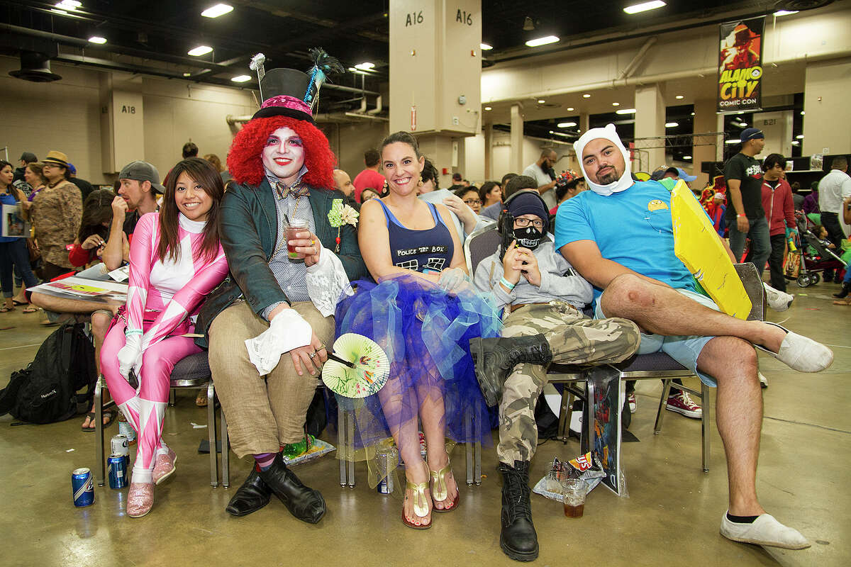 Comic Con attendees, Saturday, Sept. 12, 2015 at the Henry B. Gonzalez Convention Center.