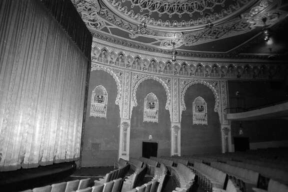 The Alhambra Theater being remodeled in 1974  Photos shot 04/01/1974