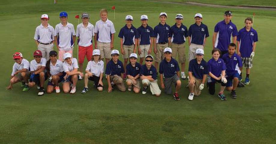 Members of The Capital Region?s PGA Junior League