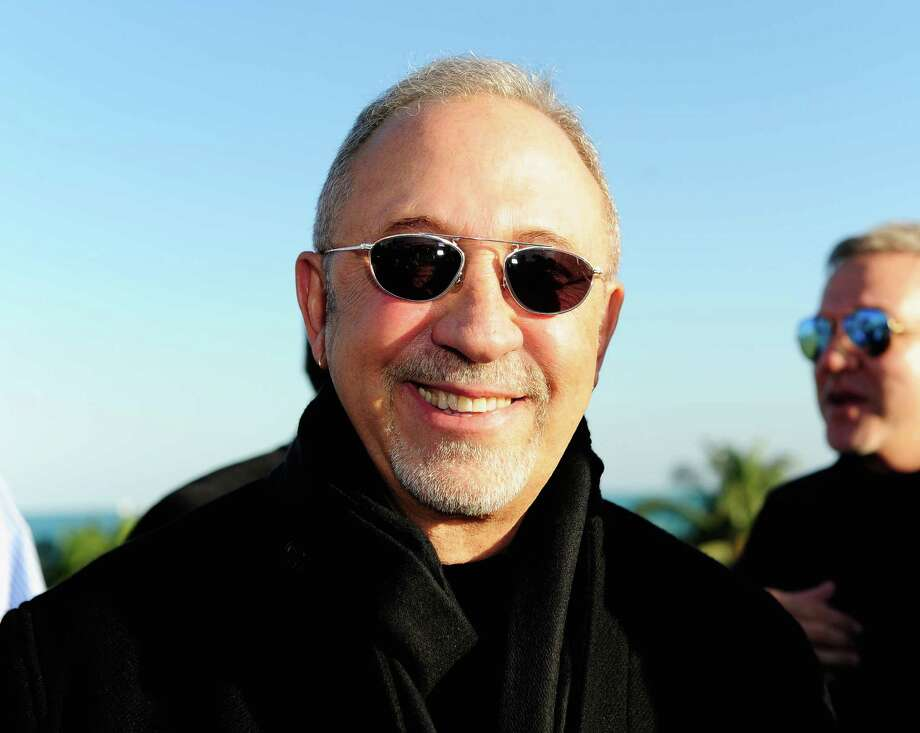 Emilio Estefan's new song celebrates Hispanic people's successes. Photo: Sergi Alexander /Getty Images For SBWFF / 2015 Getty Images