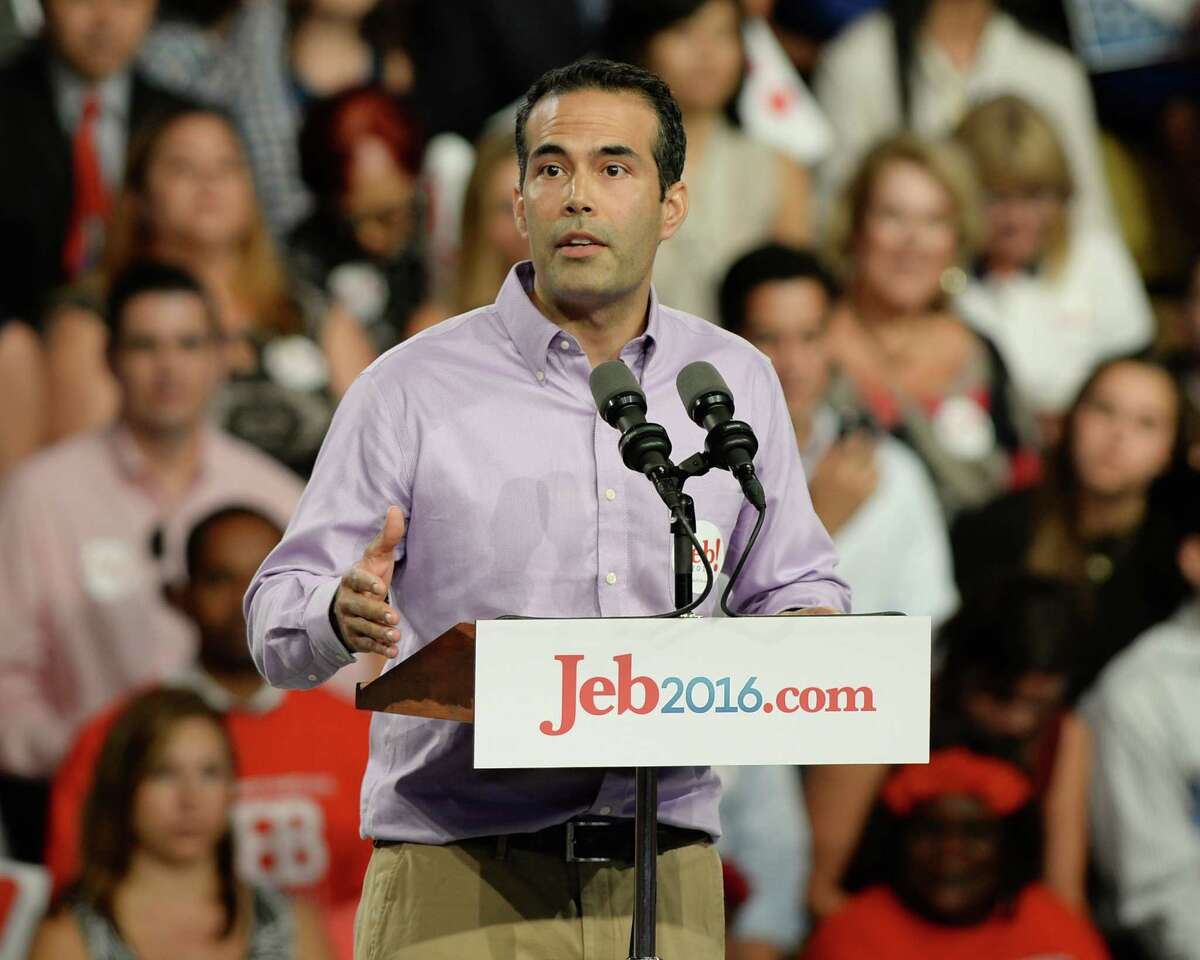 Texas Land Commissioner George P. Bush spoke to a rally in Miami last June leading up the announcement by his father, former Florida Gov. Jeb Bush, that he was running for president.