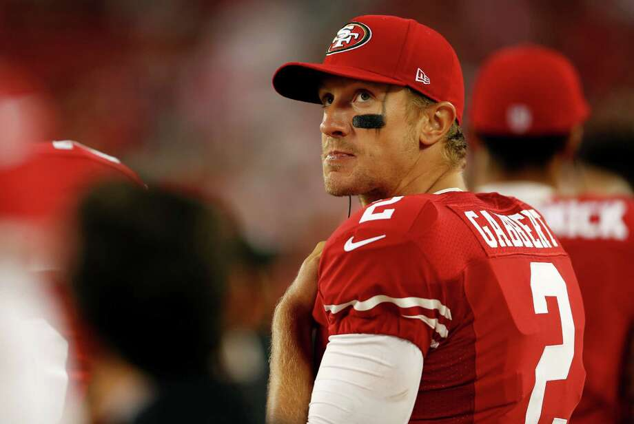 Blaine Gabbert posted a 108.8 passer rating in the preseason. Photo: Scott Strazzante / The Chronicle / ONLINE_YES