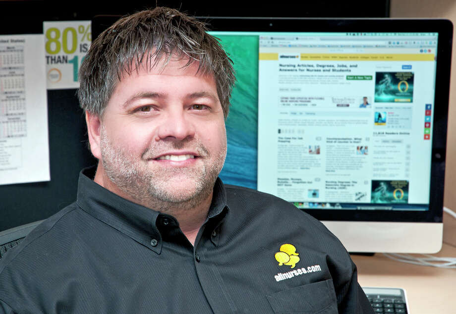Brian Short founded the social networking site AllNurses.com in 1994. Photo: Tom Witta /Associated Press / Star Tribune