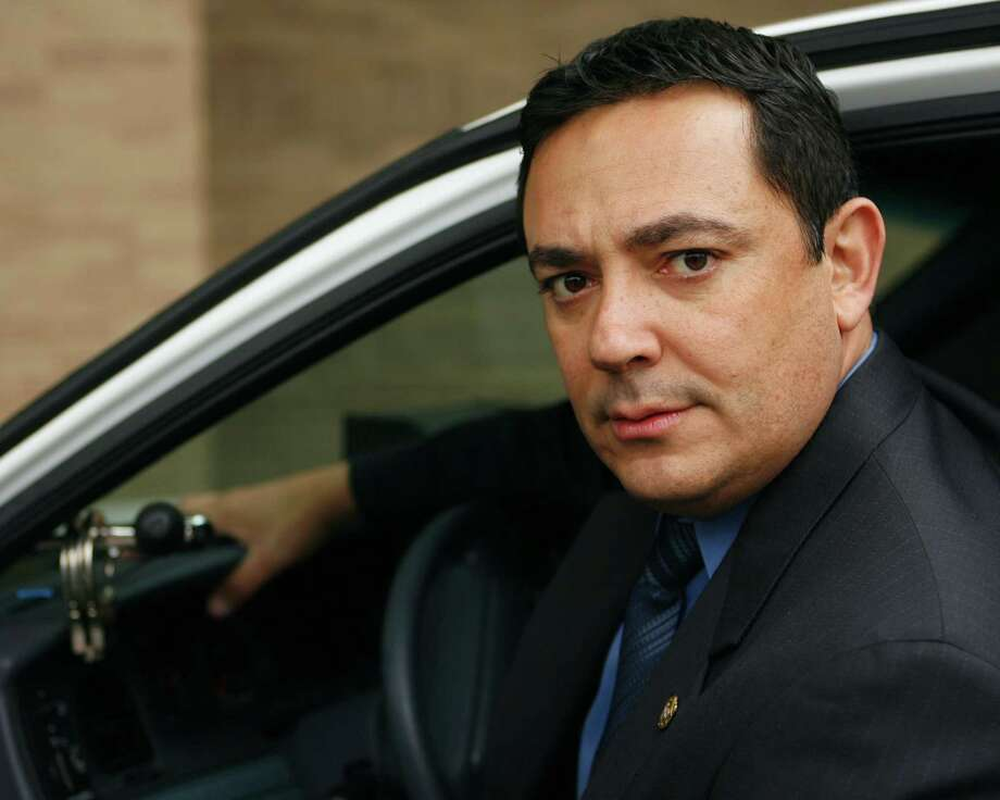 "Austin Police Chief Art Acevedo, shown in 2007 said of the body cameras: ""We believe that, in the vast majority of the time, police are doing the right things for the right reasons, and this will document that."" Photo: AP File Photo / AP"