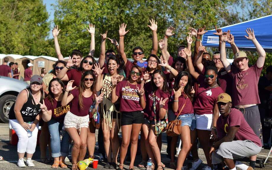 Texas State football fans and students partied hard at an epic tailgate bash before the Bobcats destroyed Prairie View A&M. Photo: By Kristen Alligood, For MySA.com
