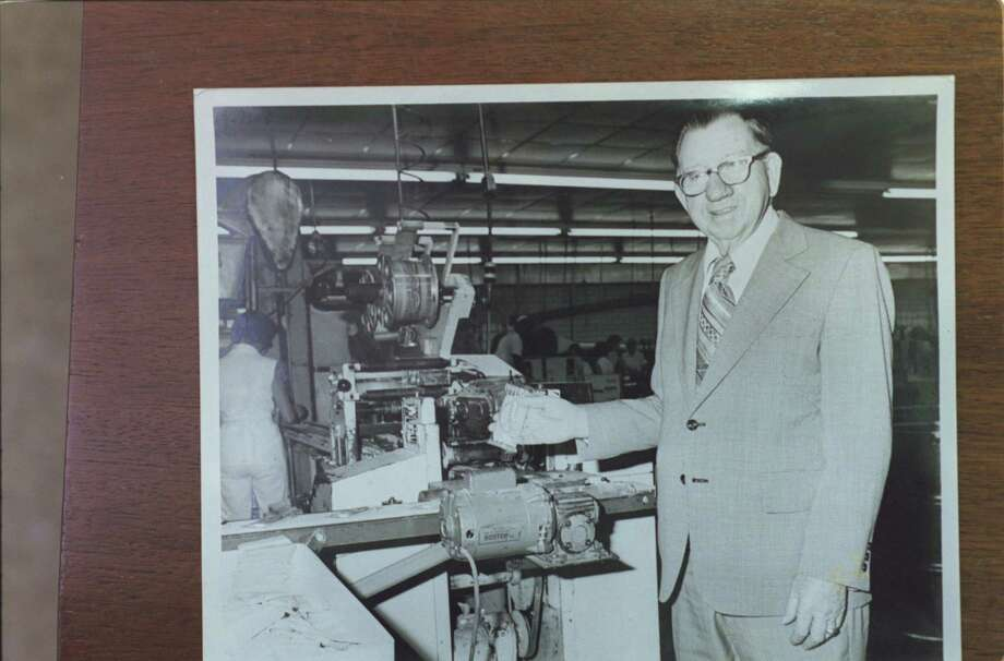 CONTACT FILED:  ATKINSON CANDY CO.   (LUFKIN, TX.) Historic photo of Atkinson Candy Company's owner. Photo: Christobal Perez, Staff / Handout