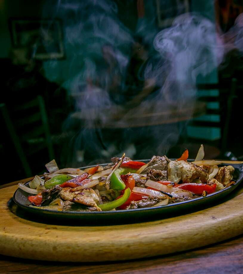 The combo fajitas at Celia's by the Beach in San Francisco. Photo: John Storey, Special To The Chronicle
