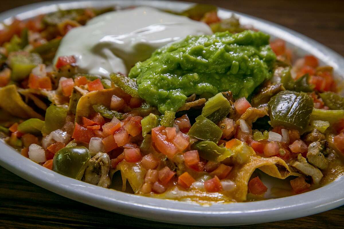 Nachos Rancheros at Celia's by the Beach in San Francisco, Calif., is seen on September 12th, 2015.