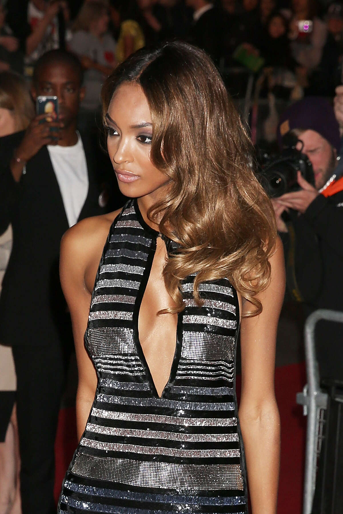 Jourdan Dunn attends the GQ Men Of The Year Awards at The Royal Opera House on September 8, 2015 in London, England.