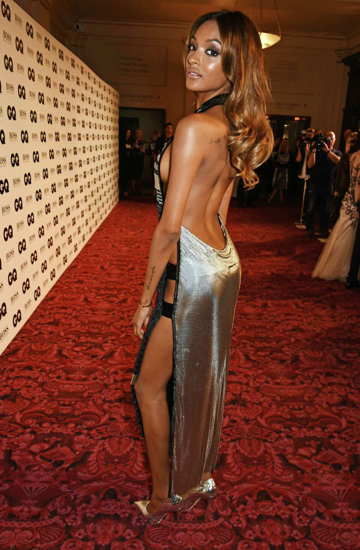 Jourdan Dunn attends the GQ Men Of The Year Awards at The Royal Opera House on September 8, 2015 in London, England. (Photo by Samir Hussein/WireImage)