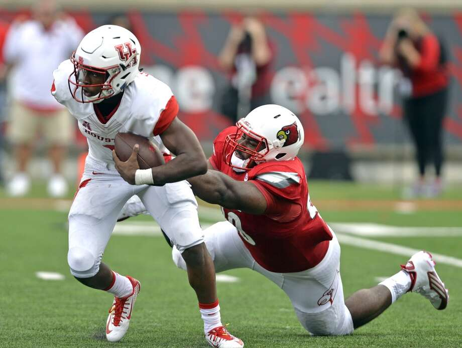 Sept. 12, 2015:  Cougars 34, Louisville 31The Cougars came up with some late heroics for their first road nonconference win over a Power 5 school since 2009.