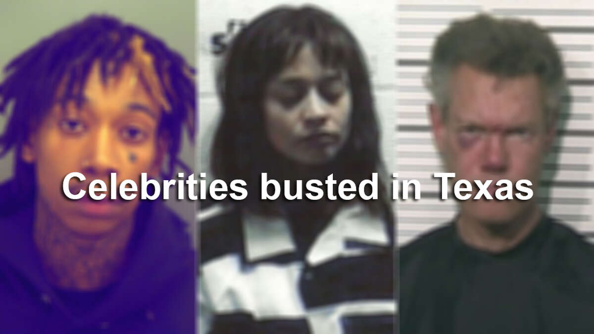 Here are some of the stars who have been arrested while visiting Texas.