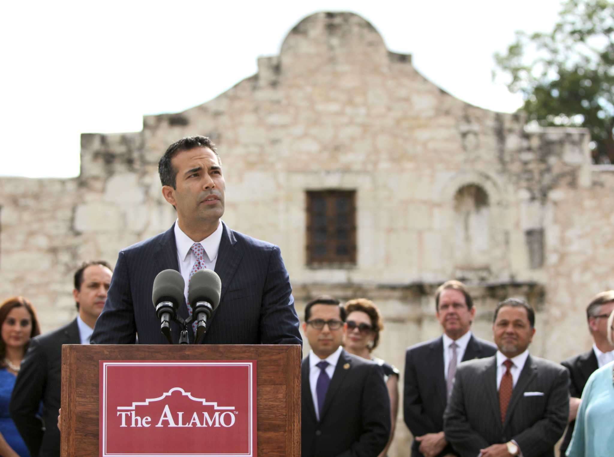 George P  Bush 'reboot' of land office has campaign, family ties