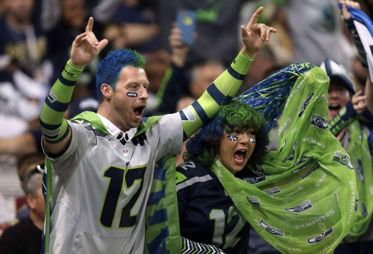 Seattle Seahawks Alaska, Idaho, Montana, Oregon, Washington