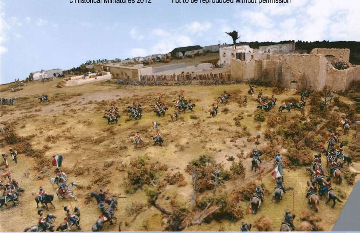 The Pennsylvania artist who made this large diorama of the 1836 Battle of the Alamo hopes to someday have it moved to San Antonio.