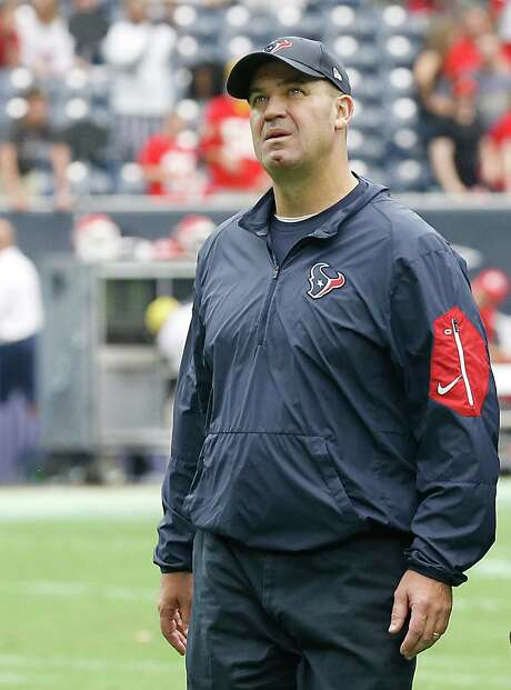 HOUSTON, TX - SEPTEMBER 13: Head coach Bill O'Brien of the Houston Texans walks off the field after loosing to the Kansas City Chiefs in a NFL game on September 13, 2015 at NRG Stadium in Houston, Texas. Chiefs won 27 to 20. (Photo by Bob Levey/Getty Images) Photo: Bob Levey, Stringer / 2015 Getty Images