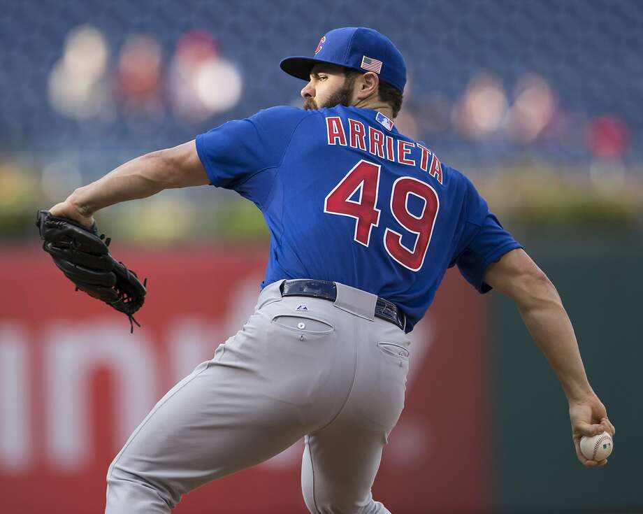 Jake Arrieta will take the ball against the Pirates on Wednesday in Pittsburgh. Photo: Mitchell Leff, Getty Images