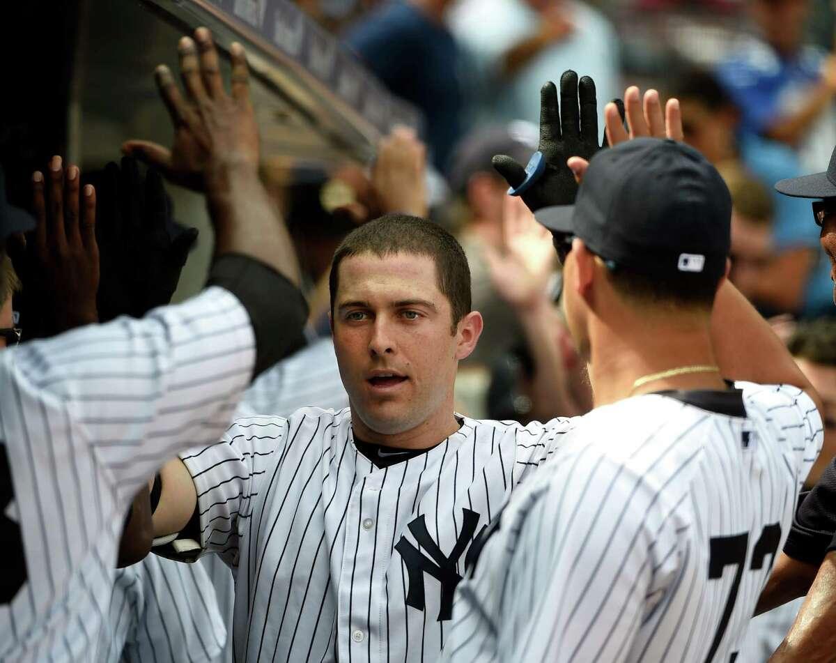 Yankees U Dustin Ackley 2016 stats: .118 BA, .211 OBP, .118 SLG, zero doubles, zero homers, zero RBIs, nine games.