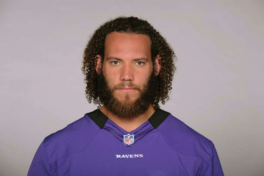This is a photo of Jah Reid of the Baltimore Ravens NFL football team. This image reflects the Baltimore Ravens active roster as of Thursday, July 2, 2015. (AP Photo) Photo: FRE / NFLPV AP